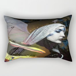 Saint Dymphna Reborn Rectangular Pillow