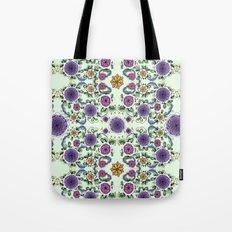 Purple Bloom Tote Bag