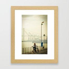 hierro Framed Art Print