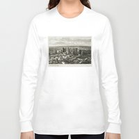 melbourne Long Sleeve T-shirts featuring Melbourne City by Ewan Arnolda