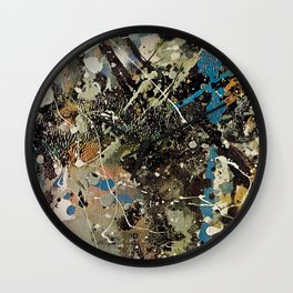 Number 1 (Lavender Mist ) by Jackson Pollock Wall Clock