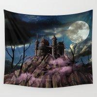 dracula Wall Tapestries featuring Dracula by tanduksapi