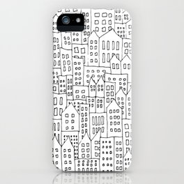 Coit City Pattern 1 iPhone Case