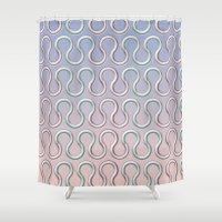 ram Shower Curtains featuring Ram by Jay Hooker Designs