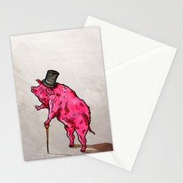 A classic pork Stationery Cards