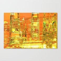 A waved skyscraper Canvas Print