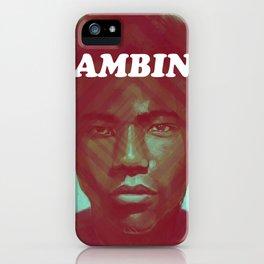 Gambino iPhone Case