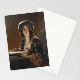 IPPOLITO CAFFI 1809 - 1866 FATIMA DI SMIRNE 1843 Stationery Cards