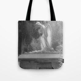 angel on the grave Tote Bag