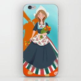 Dutch Maiden iPhone Skin