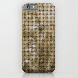 Wheat Weave Pattern iPhone Case
