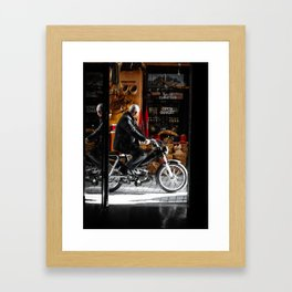 Streets of Marrakech Framed Art Print