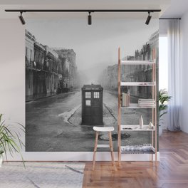 Tardis And The Old City Wall Mural