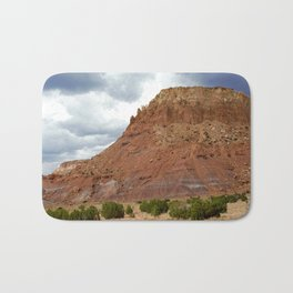 Buttes of New Mexico - On the Road to Santa Fe, No. 1 Bath Mat