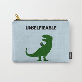 Unselfieable T-Rex Carry-All Pouch