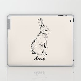 cheers little bunny Laptop & iPad Skin