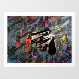 Art Is A Weapon Art Print