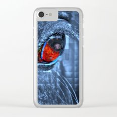 Horse vision Clear iPhone Case