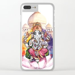 India Clear iPhone Case