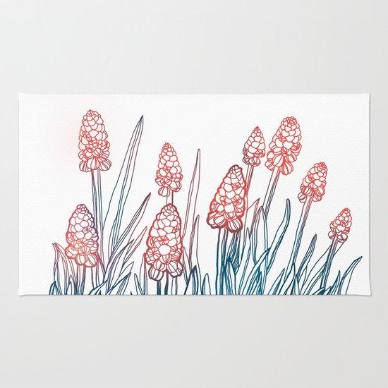 Hyacinths Rug