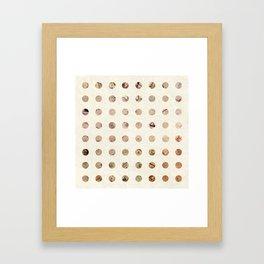 The World is Flat Framed Art Print
