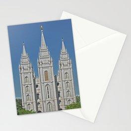 Salt Lake Utah Temple  Stationery Cards
