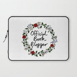 Official Book Blogger Laptop Sleeve