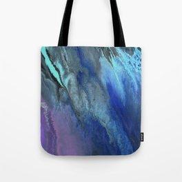 Galaxy Burst - Fluid Acrylic Painting PRINT Tote Bag