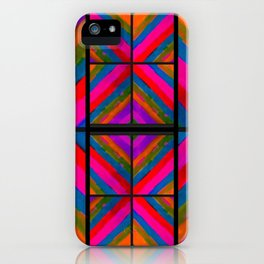 many colored angles iPhone Case