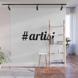 Hash Tag ARTIST Wall Mural