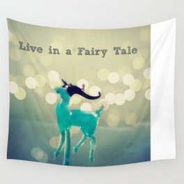 Deers and Fairy Tales Wall Tapestry