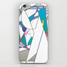 Color #8 iPhone Skin