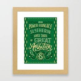 Great Ambition Framed Art Print