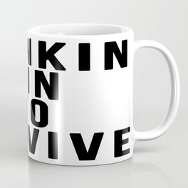 DRINKIN GIN TO SURVIVE Coffee Mug