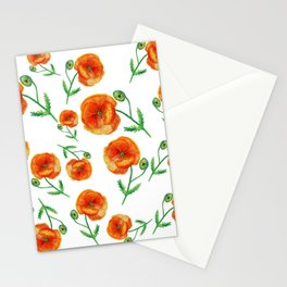 Poppies Magic Stationery Cards