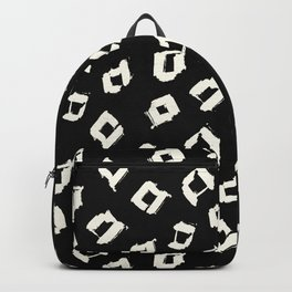 Tribal Square Dots Backpack