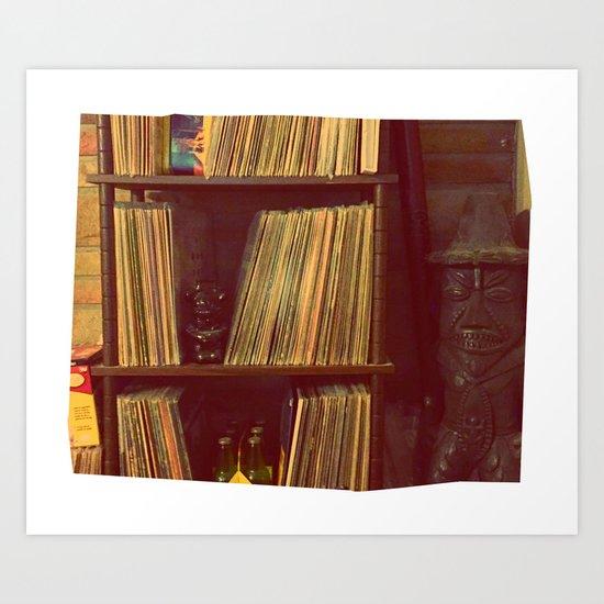 Vinyl Corner Art Print