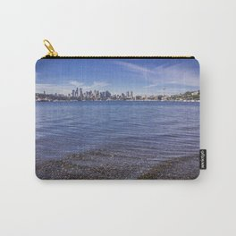 Lake Union and Seattle Skyline Carry-All Pouch
