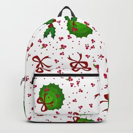 Chistmas kissing decor Backpack