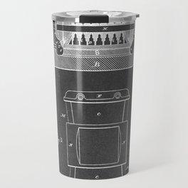 Dynamo Electric Machine - Patent #259,748 - N. Tesla - 1887 Travel Mug