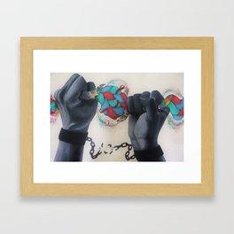 Break Every Chain Framed Art Print