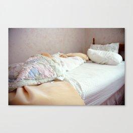 Bed I Canvas Print