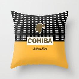Cohiba Habana Cuba Cigar Throw Pillow