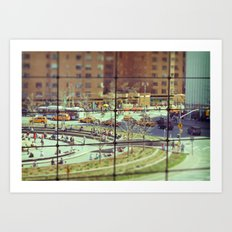 Toy Columbus Circle NYC Art Print