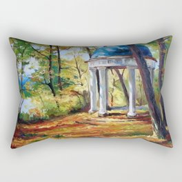 Autumn day Rectangular Pillow