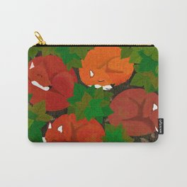 Sleepy foxes and Grapevine leaves Carry-All Pouch