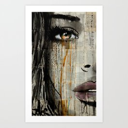 SILENT JUNGLE Art Print
