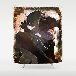 League of Legends LEE SIN Shower Curtain