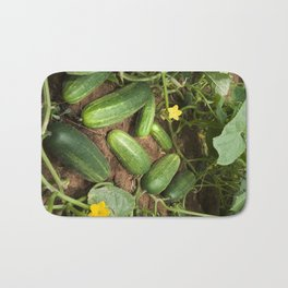 Cucumbers Bath Mat