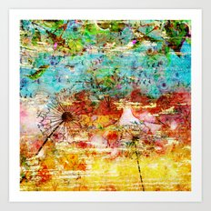 Dreams Of Summer Art Print